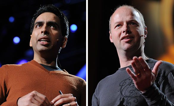 TWO GIANTS OF ONLINE LEARNING DISCUSS THE FUTURE OF EDUCATION