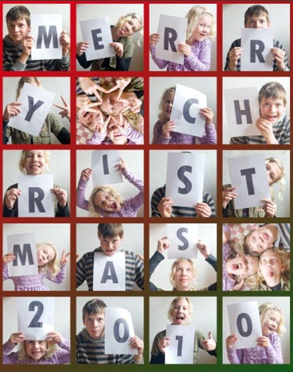 Creative Christmas Card Ideas   photo box christmas card