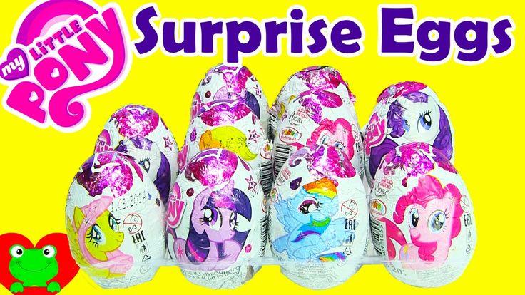 10 My Little Pony Chocolate Surprise Eggs