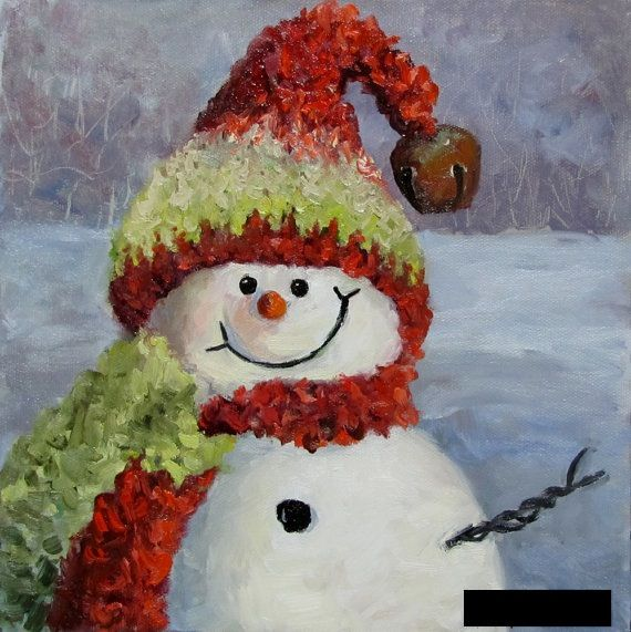 Snowman Paintings Sale