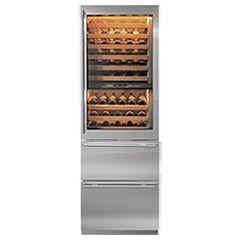 Subzero/Wolf - wine fridge and beverage drawers