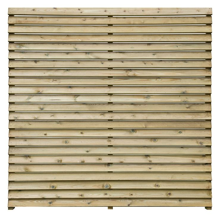 slatted fence panel w179m h1793m pack of 5