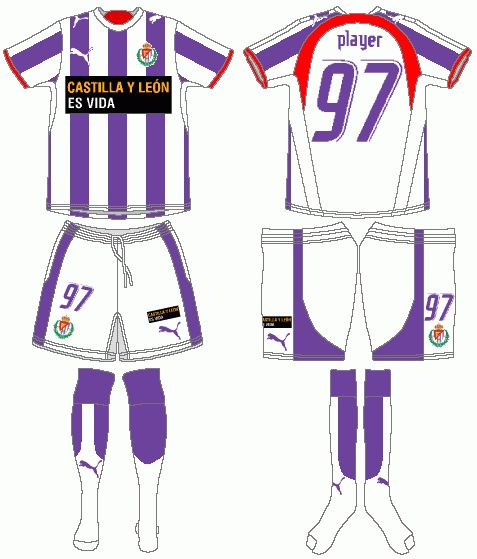 Real Valladollid - Home Jersey (2006/07)