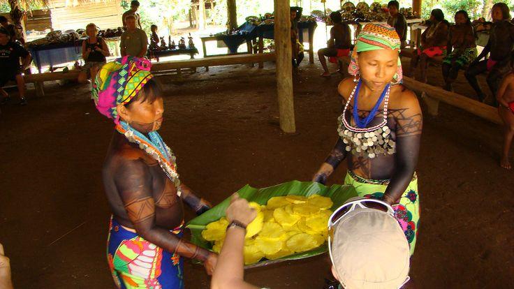 Chagres National Park - Embera Puru village
