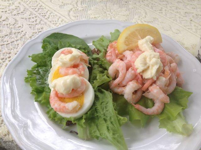 Shrimp sanwich - with Greenland shrimp