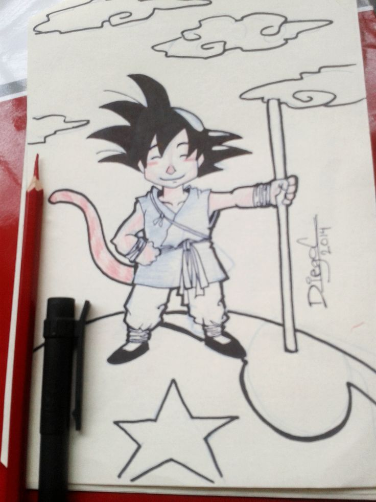 SonGoku-Dragon ball - sketch