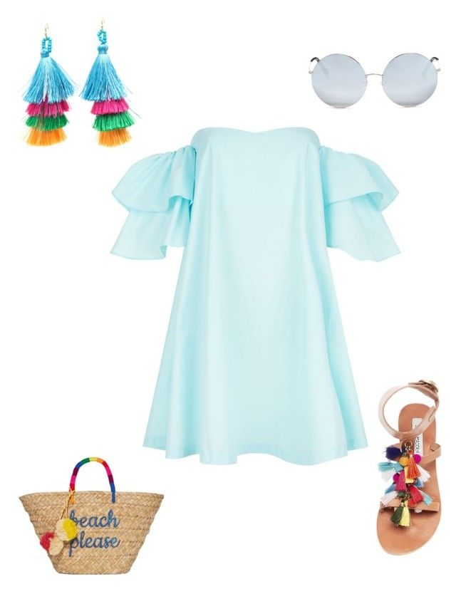 """""""Untitled #26"""" by sarii-syafitri on Polyvore featuring Claudie Pierlot, Steve Madden, Matthew Williamson and Kayu"""