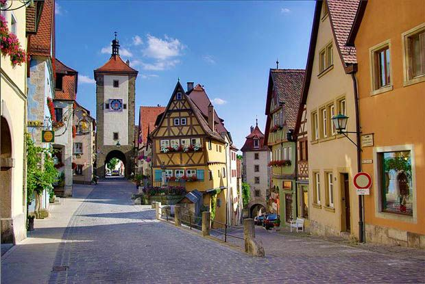 Rothenburg ob der Tauber, Germany   129 Places Worth Visiting Once in a Lifetime