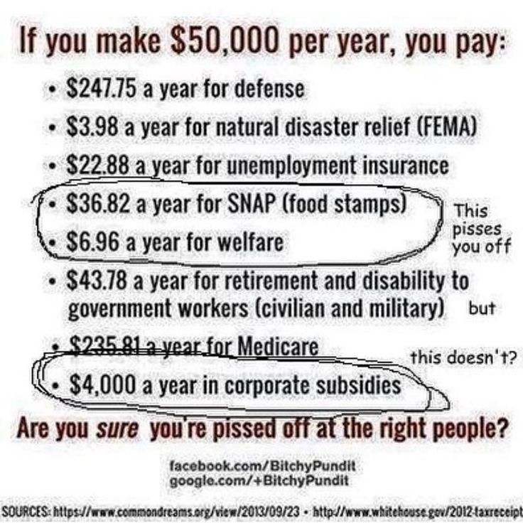 Just to give you some perspective about who is actually taking advantage of you....