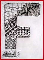 Tekenpraktijk De Innerlijke Wereld: Tangled letter F