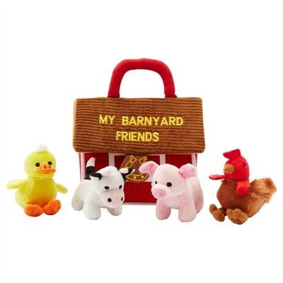 Barnyard friends play set $34.95