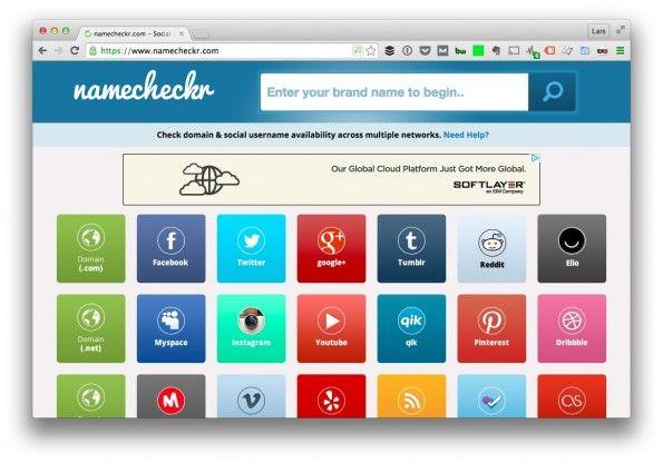 Namecheckr.com - check name availability across multiple platforms.