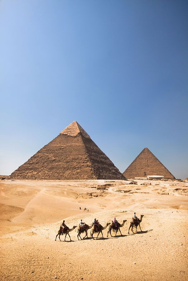 "The Pyramids, Egypt. From ""41 Places To See Before You Die (Part II)"" 