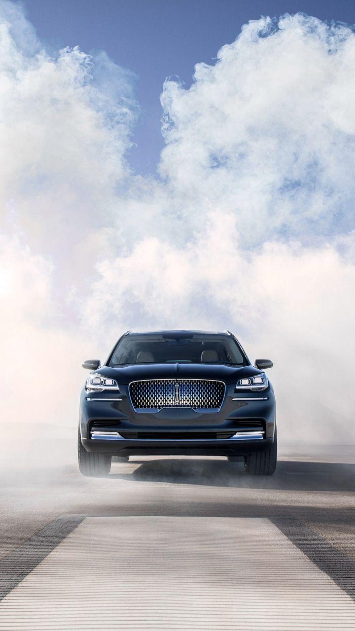 Lincoln Aviator Smoke 2018 Car 720x1280 Wallpaper Cars