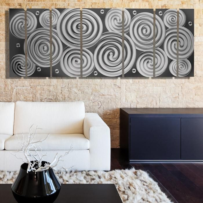 Cosmic Energy Led Sp Smartphone Controlled Large Lighted Wall Art Video By Brian Jones Metal Wall Art Panels Metal Wall Art Decor Large Metal Wall Art