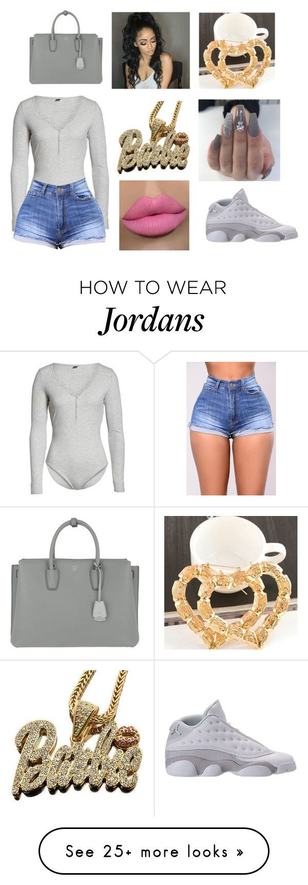 """Today"" by princeton20181 on Polyvore featuring Felina, Nicki Minaj and MCM"