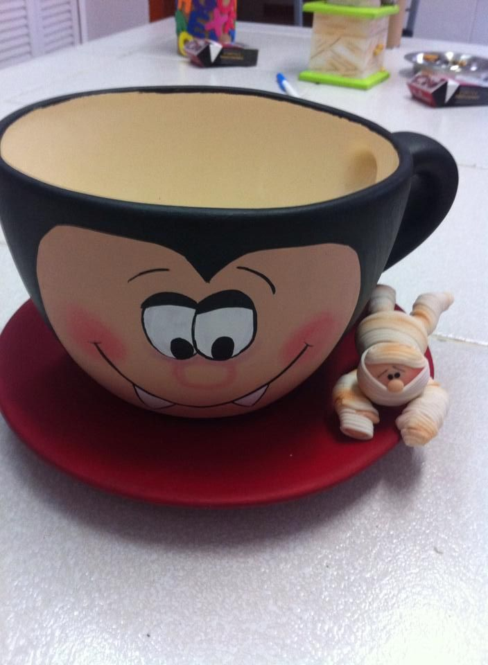 1000 images about halloween y pasta listos on pinterest for Tazas grandes