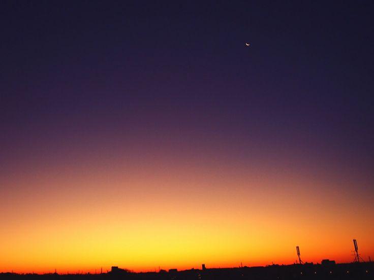 2013.11.30.Twilight&harf moon.