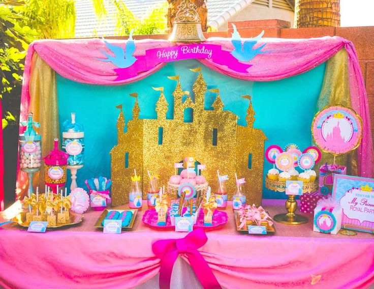 466 best Fairy & Princess Party images on Pinterest ...