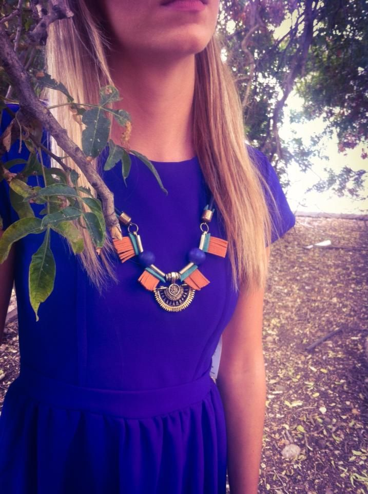 New # Africa # Necklace # Blue