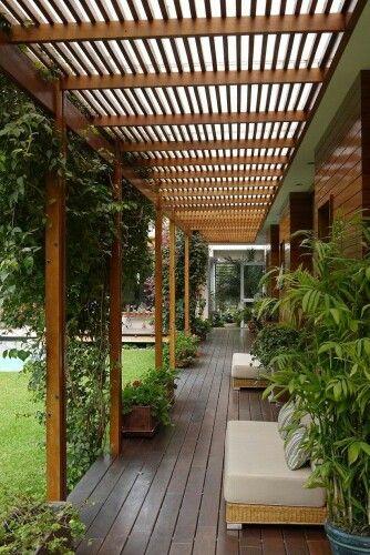 Overdækket terrasse