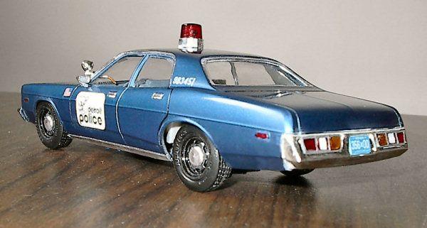 Detroit Police 1977 Dodge