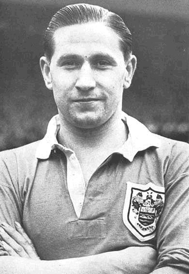 Stan Mortensen, England Footballer - Born in South Shields