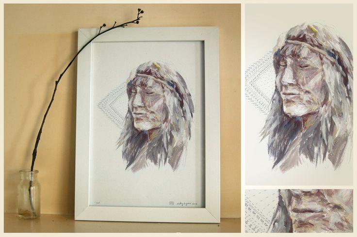 ► Shelley Krycer fine art print ► 'Seen (1)' ► edition of 25 on archival paper