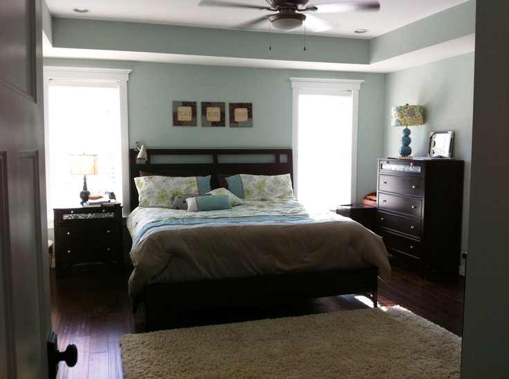 Master bedroom in kelsea model custom home interiors pinterest master bedroom Jewish master bedroom two beds