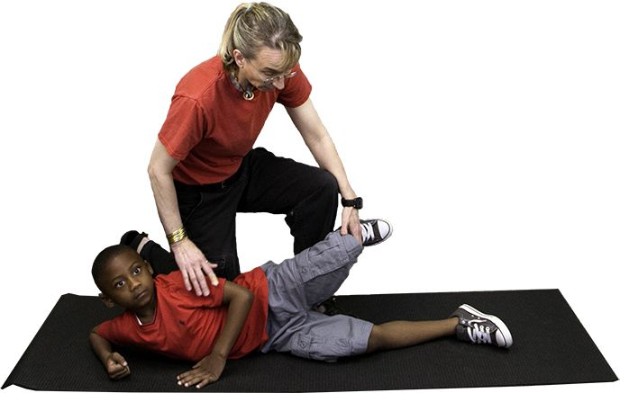 Abductor weakness is common in children with neuromuscular disorders such as cerebral palsy.  It is also a common weakness in children with muscle disorders.  Targeting strengthening improves, gait, posture, and static and dynamic balance.