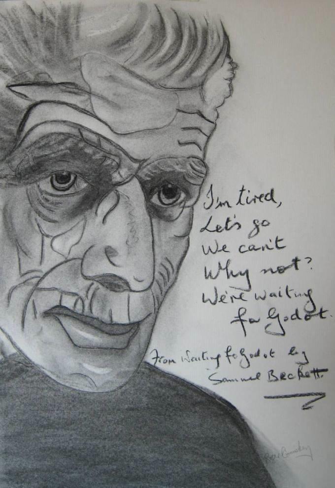 Extraordinary, Eclectic, Original. Samuel Beckett.