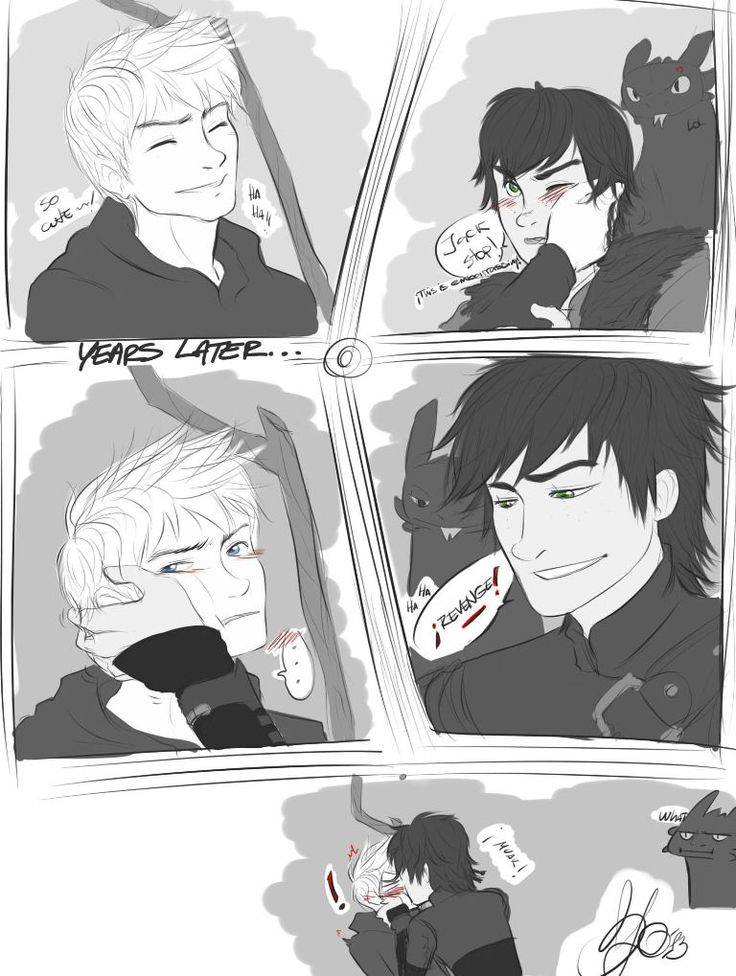 hiccup x jack | Tumblr