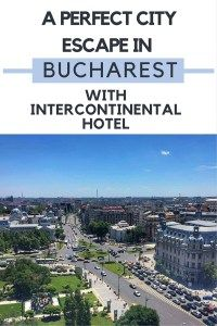 If you're planning a trip to Bucharest and looking for a perfect place to stay and enjoy the best of the city, then look no further than Intercontinental Hotel. I enjoyed three wonderful nights in the Club Suite and got to see Bucharest from a truly unique perspective. Intercontinental Hotel offers amazing VIP experiences that will give you a taste of the city even beyond the typical touristic spots. Read the full review on the blog!