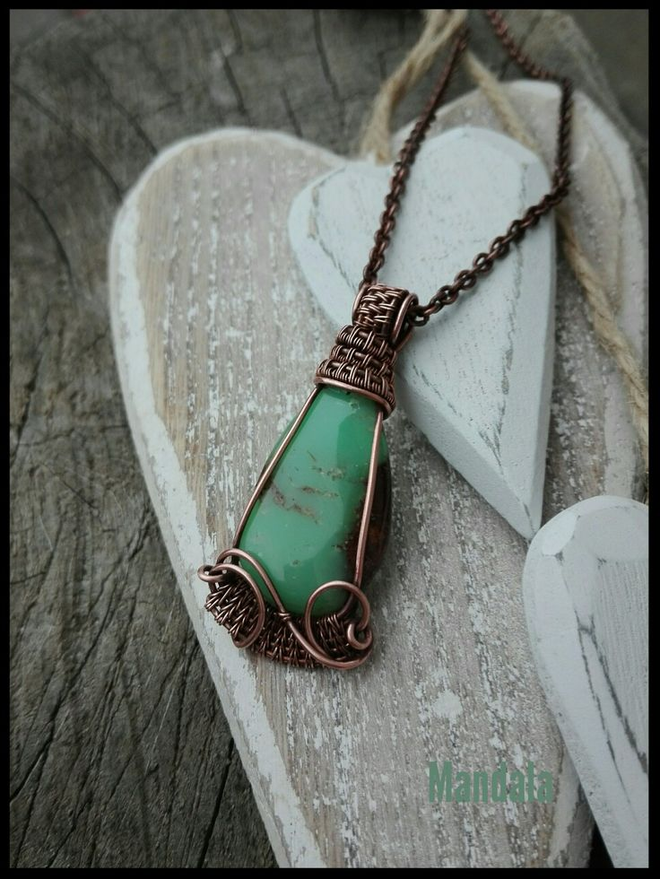 Crysophrase copper jewelry by mandala
