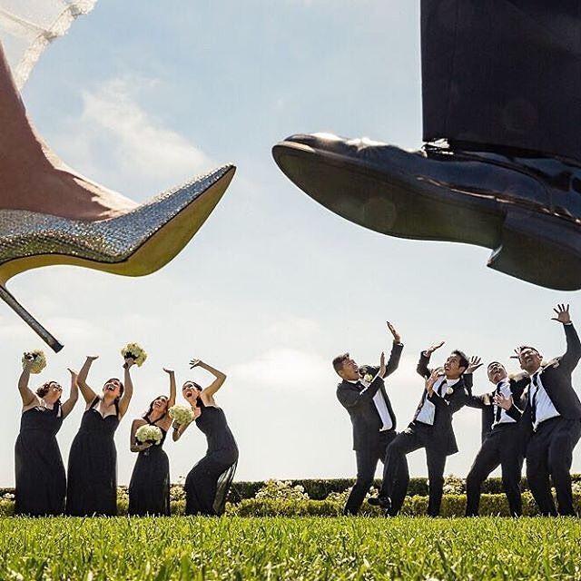 Kein typisches Hochzeitsfoto, aber dies ist ein lustiges Hochzeitsfoto für …