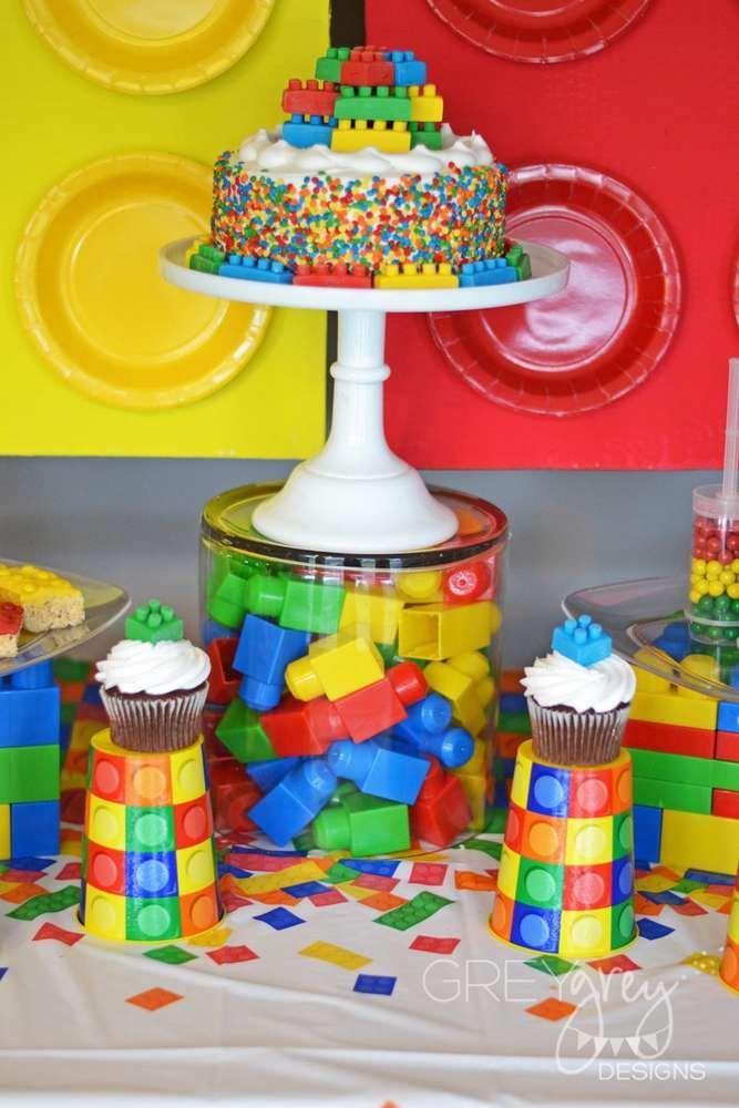 Legos, lego movie, lego friends Birthday Party Ideas   Photo 9 of 31