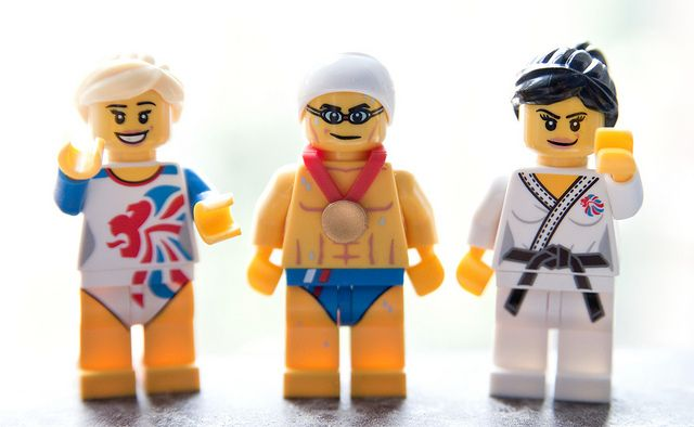Team GB 2012 Lego Minifigures