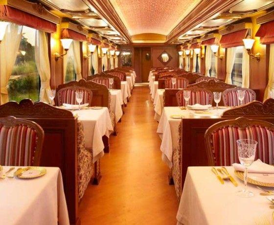 Maharajas Express luxury Train Dining