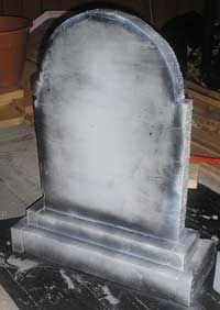 The Ten Minute Tombstone - The Basic Prop in any Halloween party decorating or yard scene.