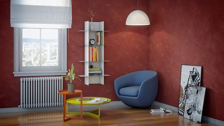 Modular shelving system built with interlocking module and shelves. It can be set vertically or horizontaly. Complete with fisher. Innesto is a bookcase with essential shapes, suitable to furnish every room in the house, but also to professional environments.