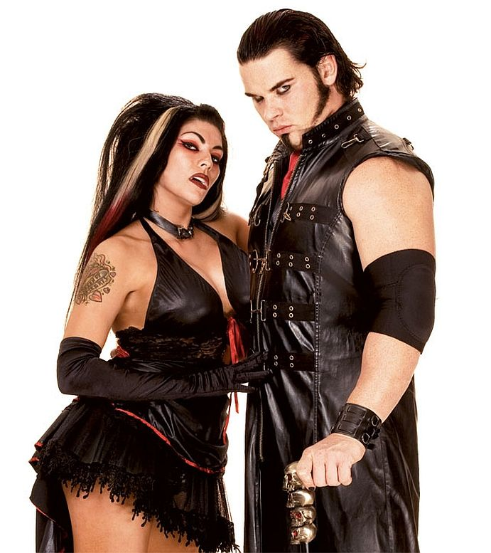 Lutte Redux Kevin Thorn Et Ariel - Wwe Vampires-8621
