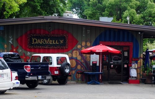 Darwells Cafe , Long beach Mississippi  Best Seafood I've ever had and it's in my hometown. Real people with Real food!!! (: