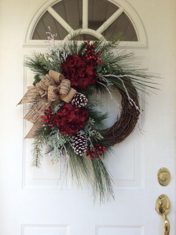 Best 25+ Christmas door wreaths ideas on Pinterest