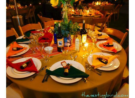 Exceptional Our Tuscan Themed Birthday Bash · Table Decor ...