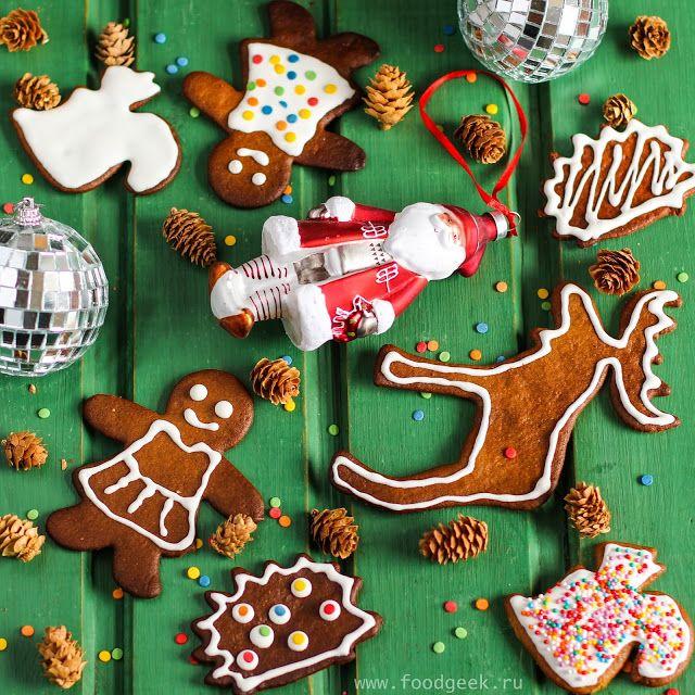 food geek: Имбирное печенье с сахарной глазурью