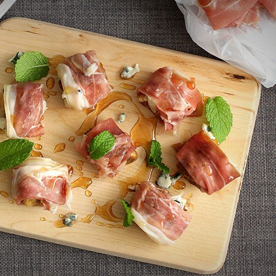 Prosciutto and Dried Fig Canapes