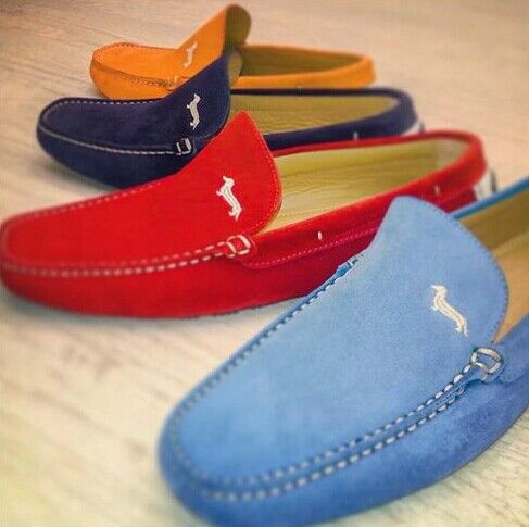 #Zapatos #Mocasin Hartmon & Blane #Mocassin...Blue.Red.Navy.Orange.