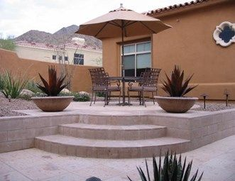 65 best patio images on pinterest   property for sale, wheelchair ... - Raised Patio Ideas