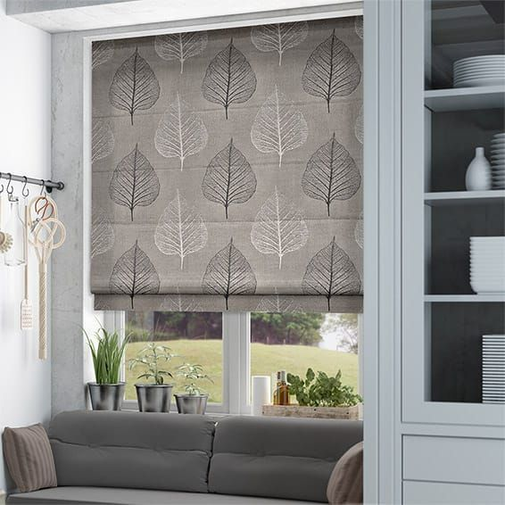 Attenborough Ash Roman Blind