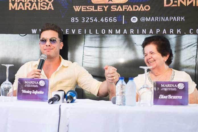 Réveillon do Marina Park hotel terá Wesley Safadão